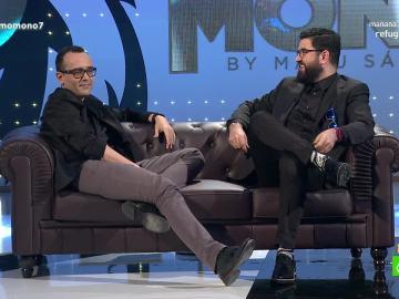 Risto Mejide y Manu Sánchez en 'El último mono'