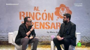 Risto Mejide y Manu Sánchez