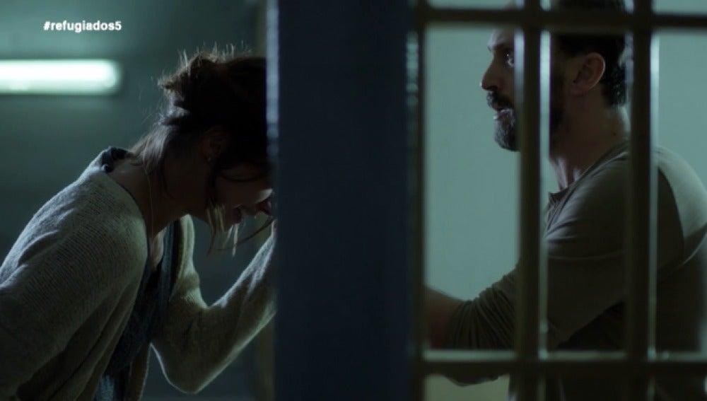 Emma le confiesa a Sam que ha perdido el bebé