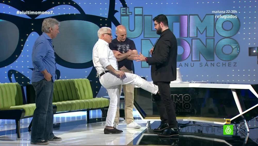 Tricicle en 'El Último Mono' con Manu Sánchez