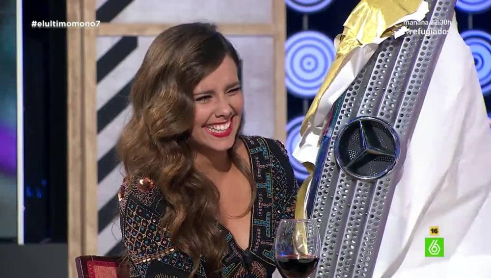 Cristina Pedroche recibe una 'estrella'