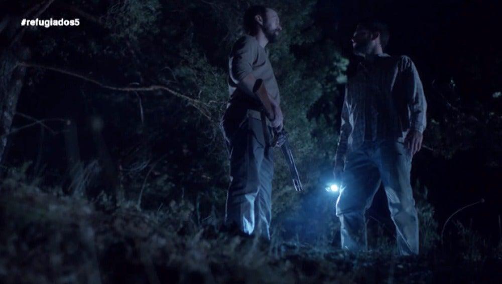 Sam acorrala a Álex para acabar con sus sospechas