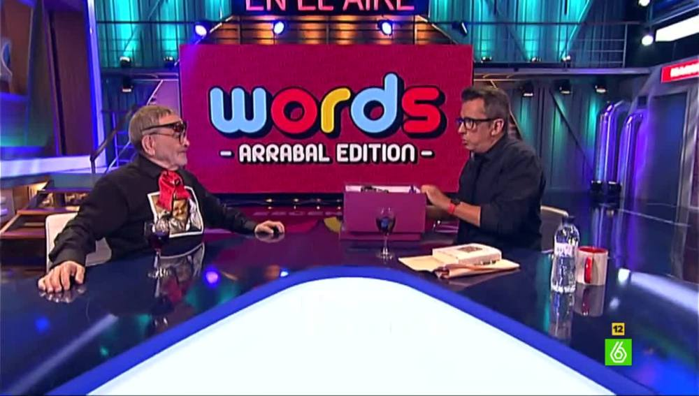 Fernando Arrabal juega a Words