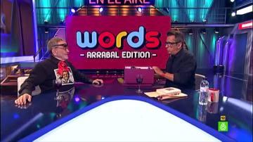 Fernando Arrabal juega a Words