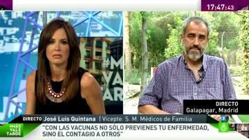 """José Luis Quintana: """"Las vacunas por norma general son un fármaco seguro y muy útil"""""""
