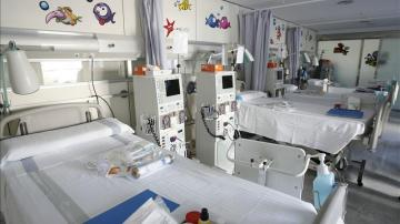 Habitación infantil del Hospital Vall d'Hebrón de Barcelona