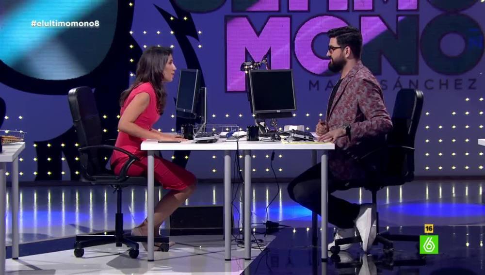 Ana Pastor y Manu Sánchez en 'El Último Mono'