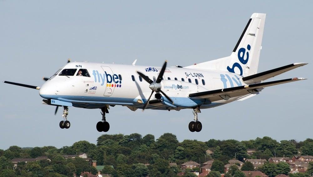Imagen de un avión de la aerolínea Flybe