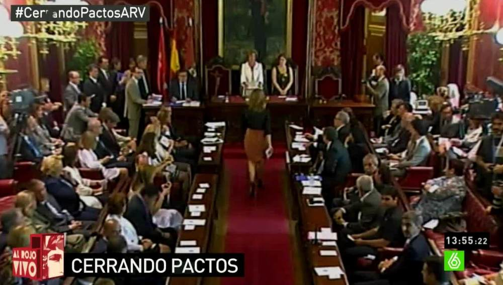 Votación en el Ayuntamiento de Madrid