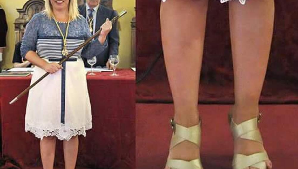 Los 'dedos retrovisor' de la nueva alcaldesa de Jerez
