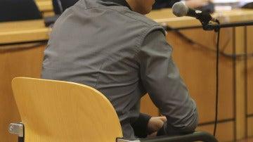 """Alfonso F., conocido como """"Alfon"""", durante el juicio en la Audiencia Provincial de Madrid"""