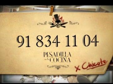 Llama a Alberto Chicote
