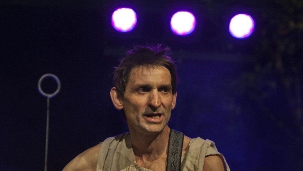 Albert Pla, en una actuación