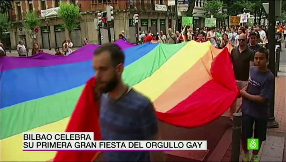 fiesta del orgullo gay en bilbao