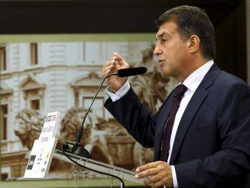 Joan Laporta, candidato a la presidencia del FC Barcelona