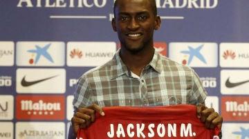 El delantero colombiano Jackson Martínez, nuevo jugador del Atlético de Madrid.