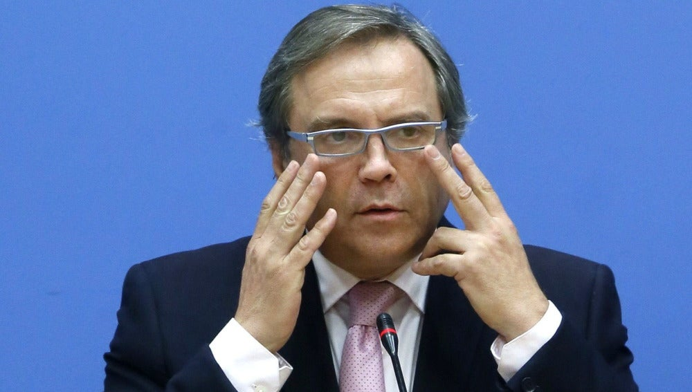 Antonio Miguel Carmona, tras su destitución como portavoz del PSOE-M