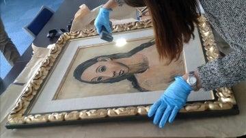"""El cuadro, """"Cabeza de mujer joven"""", de Pablo Picasso"""