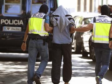 Detienen a 14 personas en una operación antiterrorista