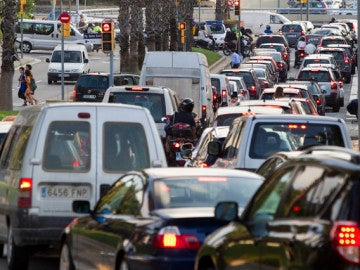 Tráfico en la ciudad