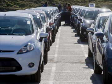 La venta de coches