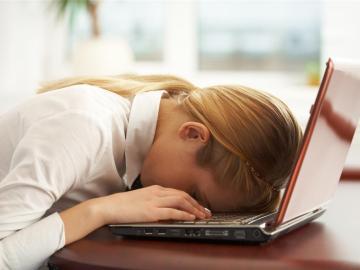 El cansancio puede pasar factura