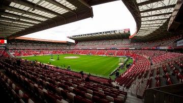 El estadio de El Molinón