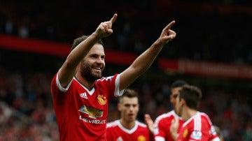 Juan Mata hizo un partidazo con el United