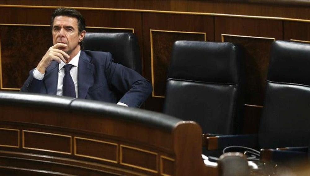 José Manuel Soria en el Congreso de los Diputados