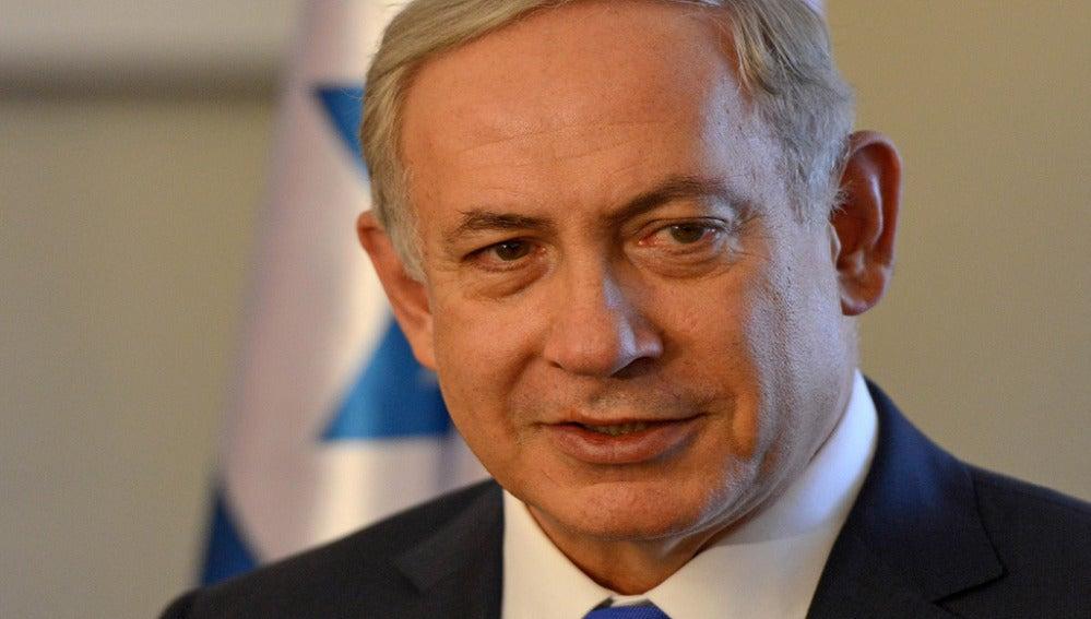 Primer ministro israelí, Benjamín Netanyahu