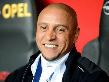 El exjugador del Real Madrid, Roberto Carlos