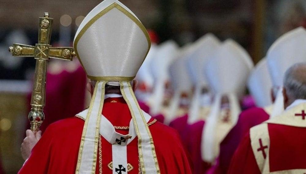 Imagen de una misa en el Vaticano