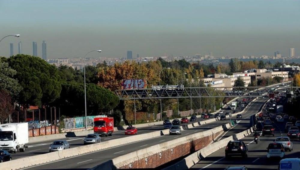 Madrid contaminada