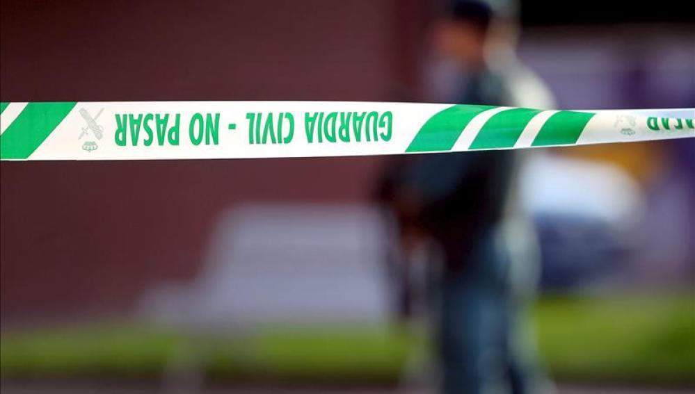 Cordón de la Guardia Civil en un suceso