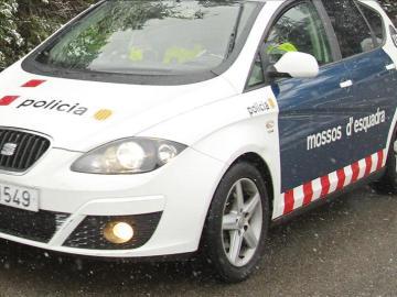 Un coche de los Mossos d'Esquadra.