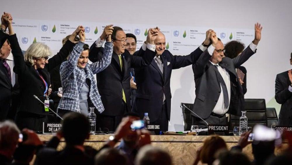 Acuerdo histórico en la Cumbre del Clima de París
