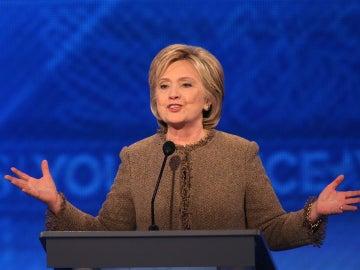La candidata demócrata, Hillary Clinton