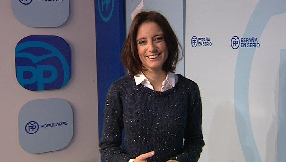 La secretaria general de Estudios y Programas del PP, Andrea Lev