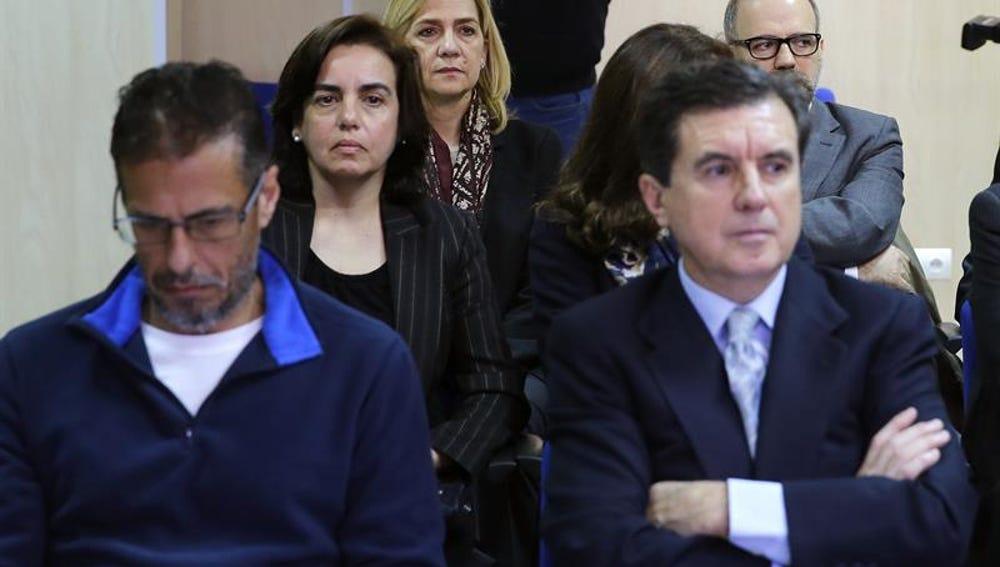 La Infanta Cristina en el juicio del caso Nóos