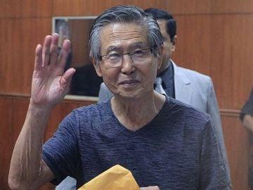 Alberto Fujimori en una imagen de archivo