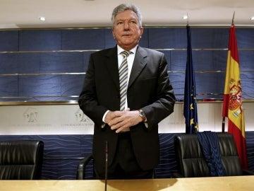 El representante de Nueva Canarias, Pedro Quevedo