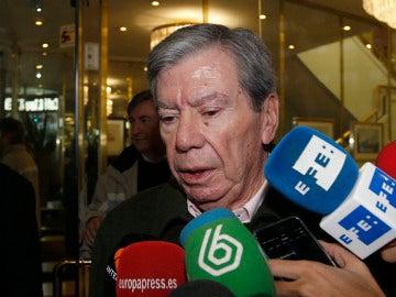 El expministro José Luis Corcuera