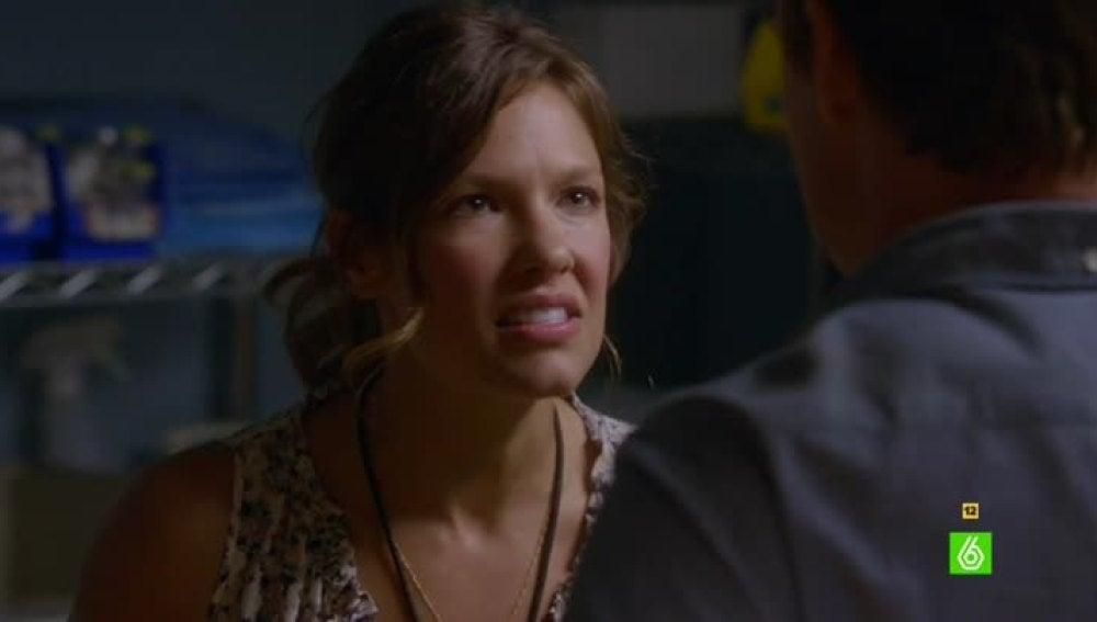 Callie es clara con Jim y su relación con Sam