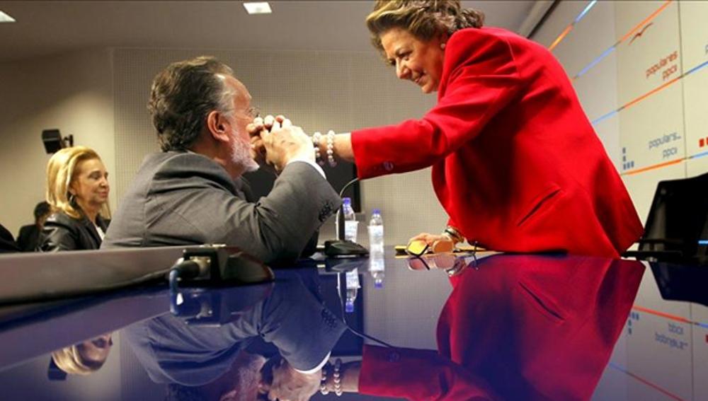 Rita Barberá y Alfonso Grau en una imagen de archivo