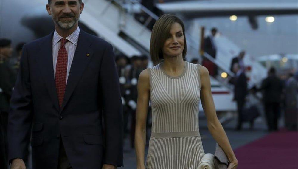 El rey Felipe y la reina Letizia