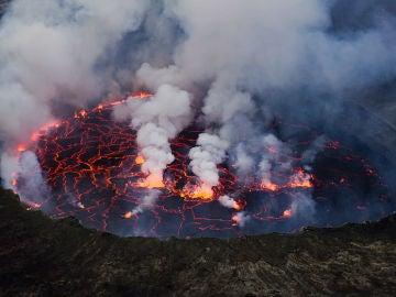 Volcán Nyiragongo, República democrática del Congo