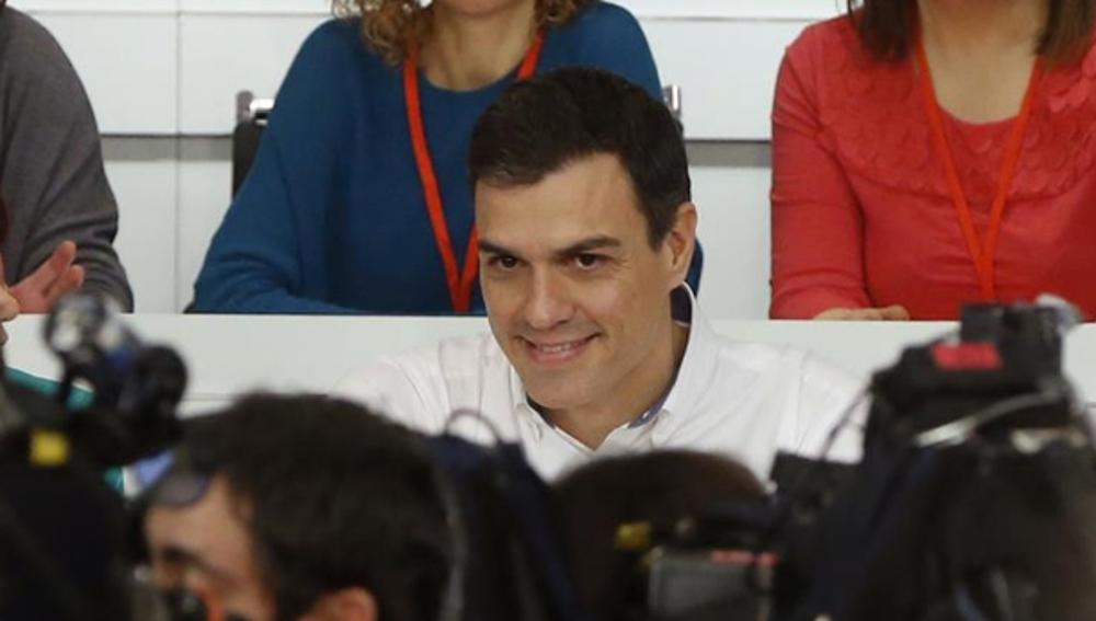 Pedro Sánchez durante un Comité Federal (Archivo)