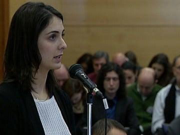 Rita Maestre declarando ante el juez