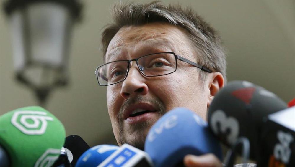 El portavoz de En Comú Podem e nel Congreso, Xavier Domènech
