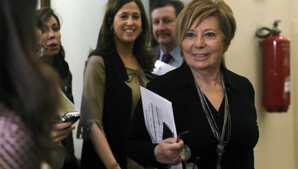 """Celia Villalobos: """"Estoy hasta las narices de mis compañeros de Madrid y Valencia"""""""